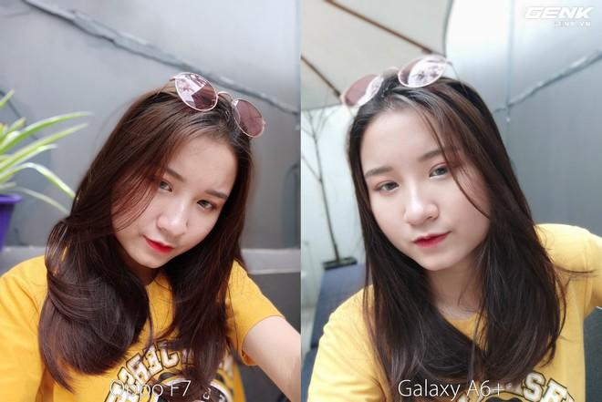 Samsung Galaxy A6+ vs. Oppo F7: 24MP và 25MP, đâu là chuyên gia selfie đích thực? - Ảnh 2.
