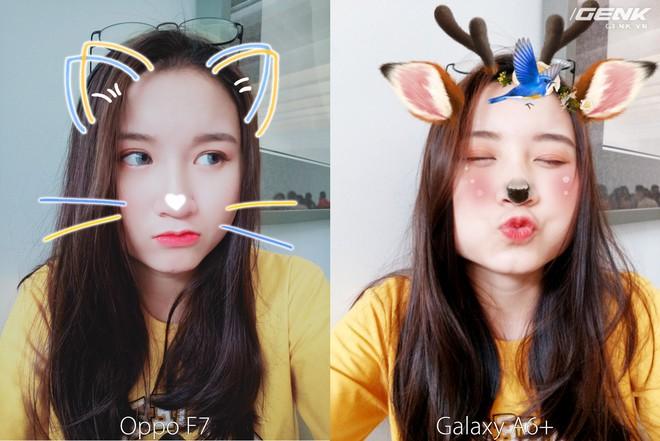 Samsung Galaxy A6+ vs. Oppo F7: 24MP và 25MP, đâu là chuyên gia selfie đích thực? - Ảnh 3.