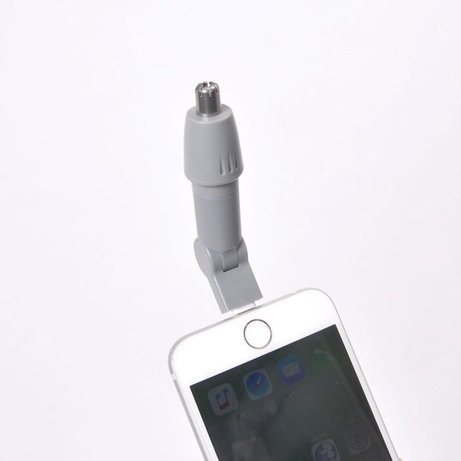 Chiêm ngưỡng máy tỉa lông mũi gắn smartphone giá 300.000 đồng của Nhật - Ảnh 5.