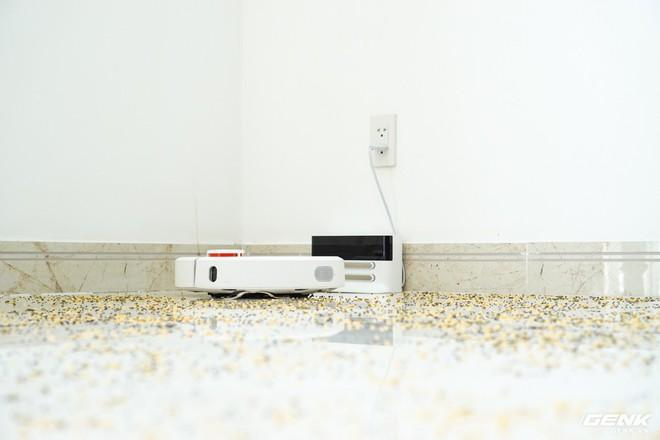 Ảnh thực tế robot hút bụi Mi Robot Vacuum: tự động quét dọn mọi ngóc ngách trong nhà, tự giác quay về chỗ để nạp pin - Ảnh 3.
