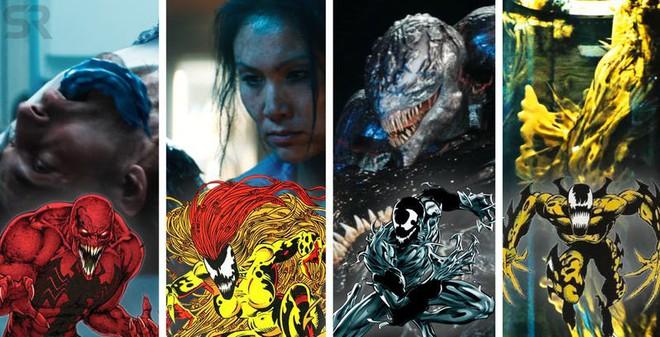 Những ác nhân Symbiote xuất hiện trong trailer 2, đối đầu trực tiếp với Venom là ai? - Ảnh 2.