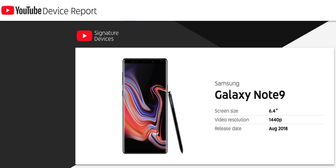 Vừa mới ra mắt, Galaxy Note 9 đã lọt vào danh sách những smartphone xem YouTube ngon nhất hiện nay - Ảnh 2.
