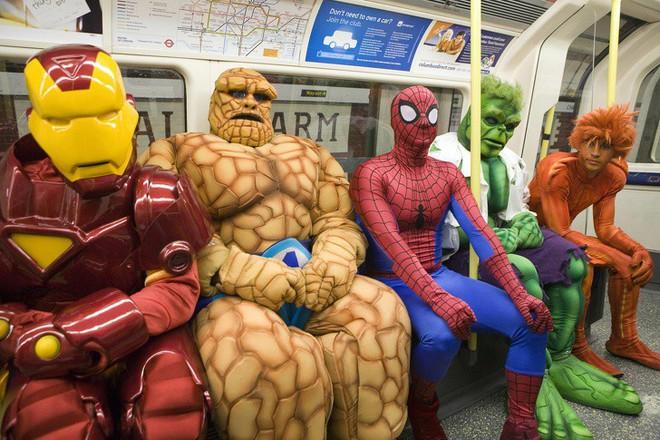 [Vui] 20 bức ảnh sẽ chứng minh cho bạn thấy: Thế giới trên tàu điện ngầm luôn ngập tràn những điều kỳ lạ - Ảnh 11.