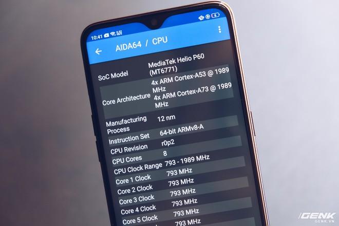 Trên tay Oppo F9 giá 7.69 triệu: Màn hình giọt nước, mặt lưng họa tiết, sạc nhanh VOOC, camera kép - Ảnh 15.