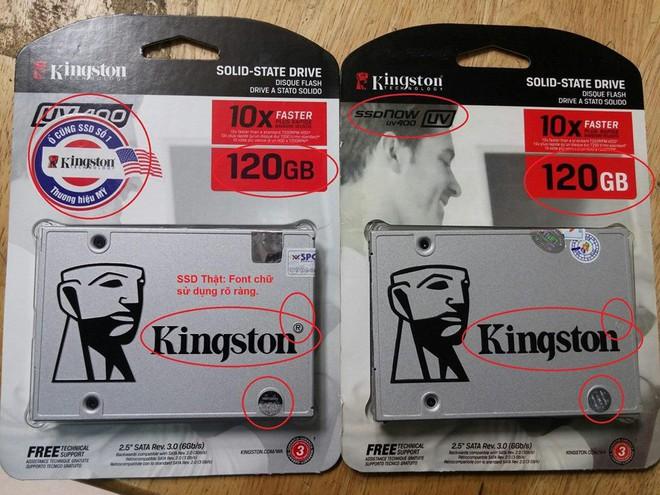 SSD Kingston nhái bày bán tràn lan trên thị trường với nhiều thủ đoạn tinh vi - Ảnh 6.