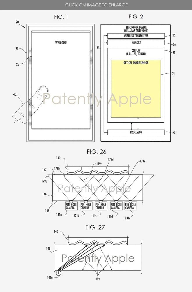 Apple có thể đã tìm ra cách đưa cảm biến vân tay trở lại màn hình all –screen của iPhone - Ảnh 2.