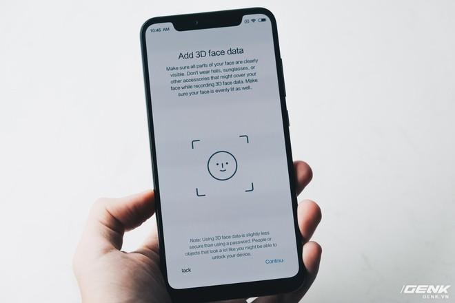 Trải nghiệm cảm biến vân tay trong màn hình & nhận dạng khuôn mặt 3D trên Xiaomi Mi 8 EE - Ảnh 10.