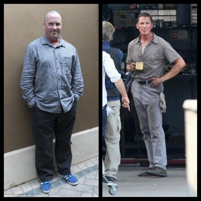 Từ anh béo cằm nọng, Christian Bale lại đột ngột biến hình gầy tong teo khiến cư dân mạng hết hồn - Ảnh 1.