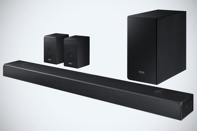 Samsung kết hợp cùng Harman Kardon ra mắt 2 loa soundbar cao cấp - Ảnh 1.