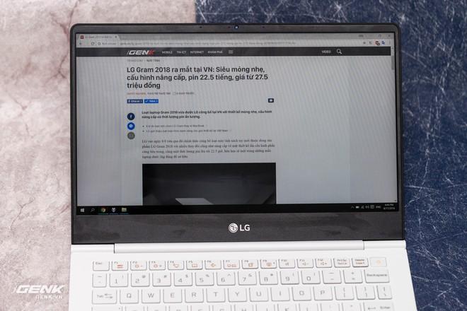 Đập hộp máy tính xách tay LG Gram 2018 - Mạnh mẽ nhưng nhẹ như lông hồng - Ảnh 8.
