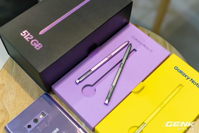 Trên tay Samsung Galaxy Note9 Lavender Purple bản đặc biệt chỉ bán tại Hàn Quốc: màu tím thời thượng tặng kèm 2 bút S-Pen - Ảnh 4.