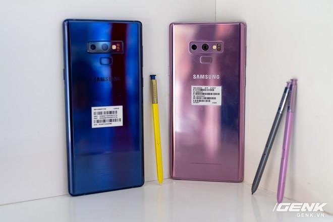 Trên tay Samsung Galaxy Note9 Lavender Purple bản đặc biệt chỉ bán tại Hàn Quốc: màu tím thời thượng tặng kèm 2 bút S-Pen - Ảnh 15.