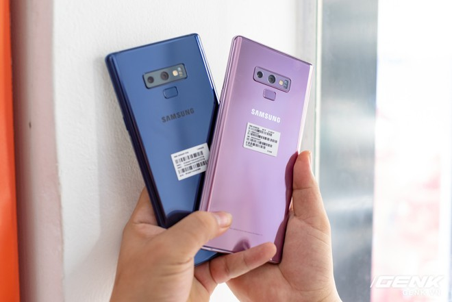Trên tay Samsung Galaxy Note9 Lavender Purple bản đặc biệt chỉ bán tại Hàn Quốc: màu tím thời thượng tặng kèm 2 bút S-Pen - Ảnh 17.
