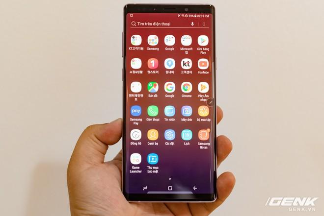Trên tay Samsung Galaxy Note9 Lavender Purple bản đặc biệt chỉ bán tại Hàn Quốc: màu tím thời thượng tặng kèm 2 bút S-Pen - Ảnh 19.