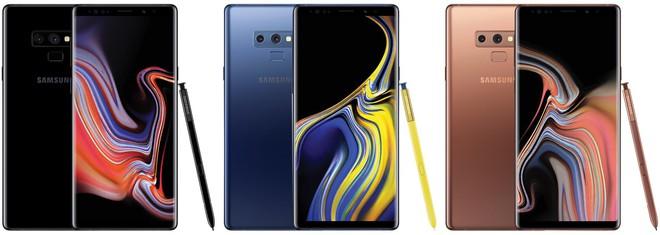 Lộ danh sách màu sắc của Galaxy Note9 mà Samsung sẽ bán tại Việt Nam - Ảnh 2.