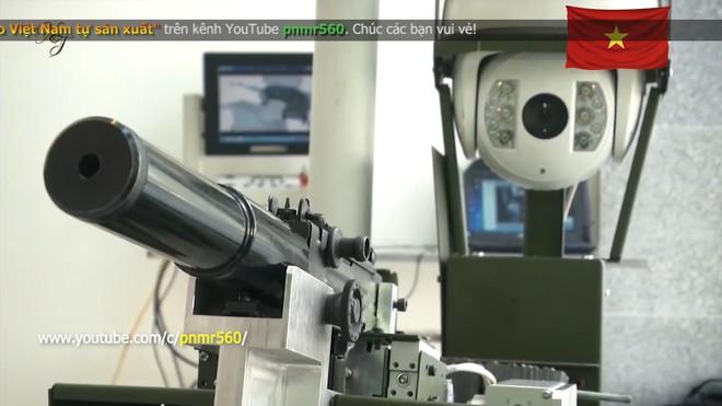 Cận cảnh robot chiến đấu tự hành Made in Việt Nam: không sợ thời tiết khắc nghiệt, tự động sử dụng vũ khí tiêu diệt mục tiêu - Ảnh 7.