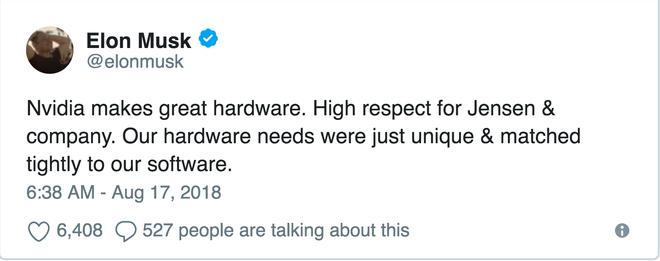 Tesla tự sản xuất chip AI cho xe ô tô tự lái, nhưng nếu có vấn đề gì, Nvidia vẫn sẽ sẵn lòng giang tay giúp đỡ - Ảnh 3.