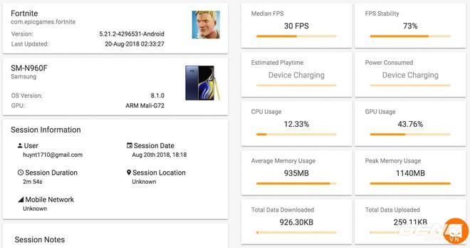 Đánh giá chi tiết hiệu năng Galaxy Note9: hệ thống tản nhiệt là điều đáng nói nhất - Ảnh 10.
