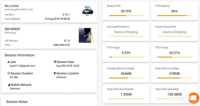 Đánh giá chi tiết hiệu năng Galaxy Note9: hệ thống tản nhiệt là điều đáng nói nhất - Ảnh 12.