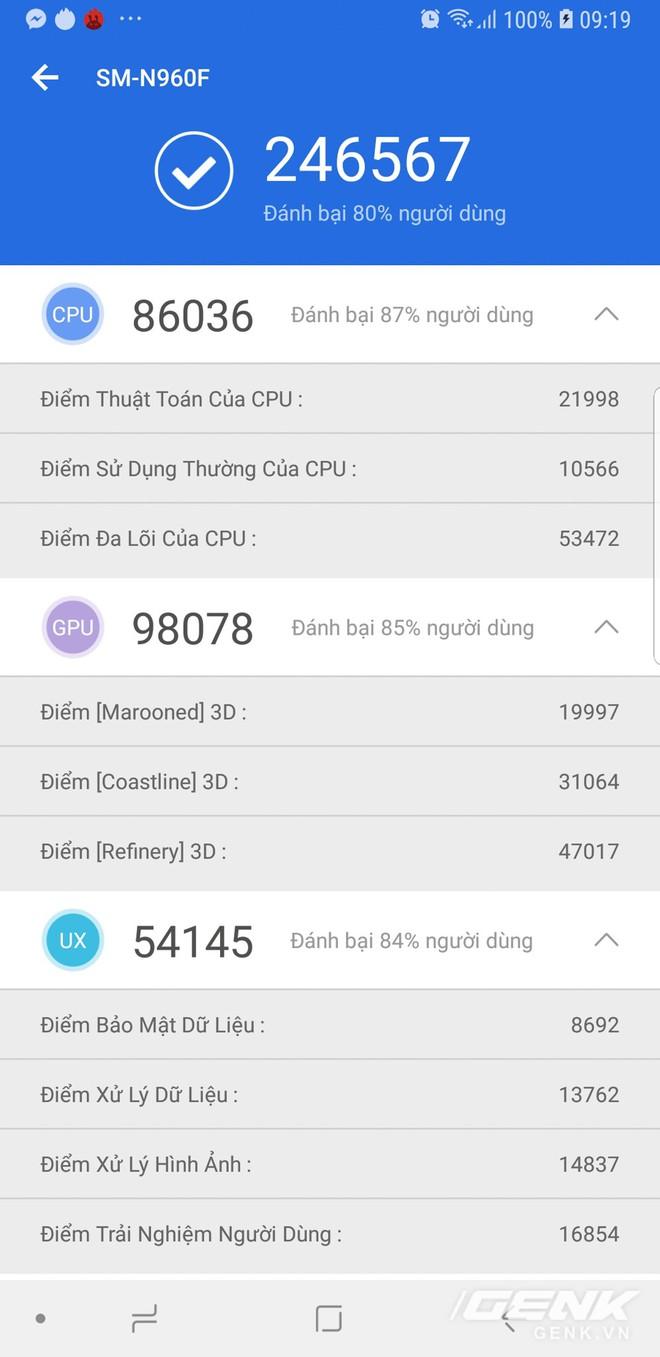 Đánh giá chi tiết hiệu năng Galaxy Note9: hệ thống tản nhiệt là điều đáng nói nhất - Ảnh 5.