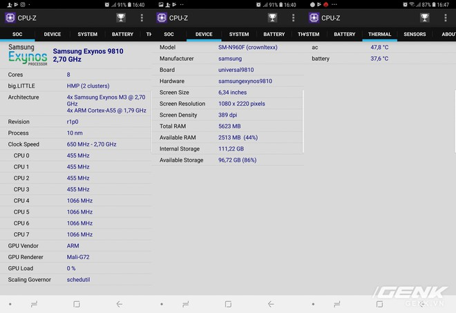 Đánh giá chi tiết hiệu năng Galaxy Note9: hệ thống tản nhiệt là điều đáng nói nhất - Ảnh 2.