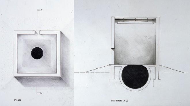 Vì tò mò, du khách Ý bị rơi xuống hố đen nghệ thuật được tạo ra từ năm 1992 - Ảnh 3.
