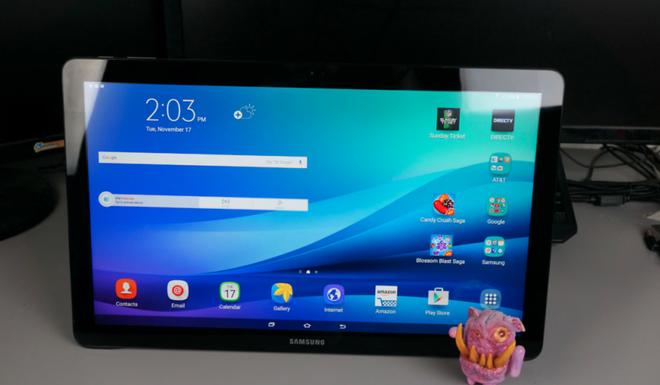 Máy tính bảng khổng lồ 17,5 inch Samsung Galaxy View 2 có thể đang được phát triển - Ảnh 2.