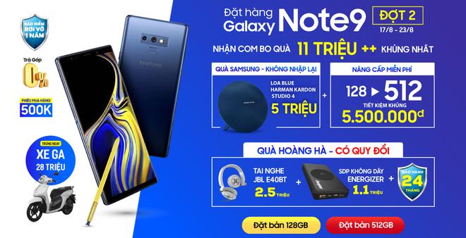 Galaxy Note9 chính thức mở bán tại Việt Nam từ ngày mai - Ảnh 3.