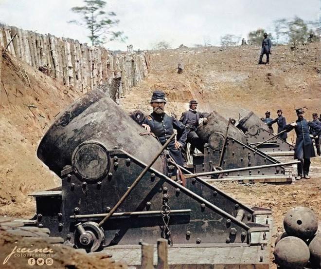 Ngỡ ngàng trước những bức ảnh lịch sử Thế chiến thứ 2 đã được phục chế và tô màu - Ảnh 12.