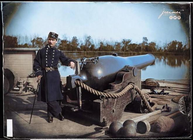 Ngỡ ngàng trước những bức ảnh lịch sử Thế chiến thứ 2 đã được phục chế và tô màu - Ảnh 20.