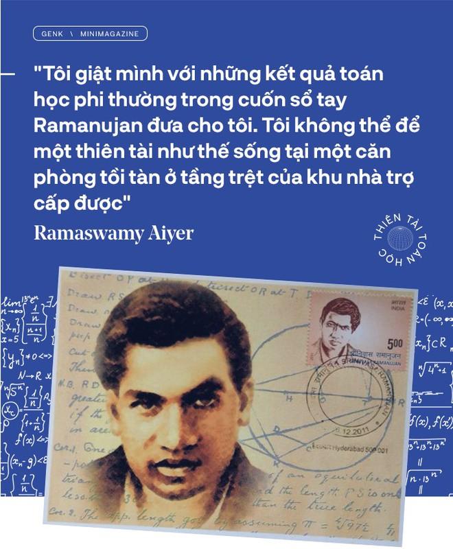 Thiên tài toán học Srinivasa Ramanujan, người đàn ông biết đếm tới vô tận - Ảnh 5.