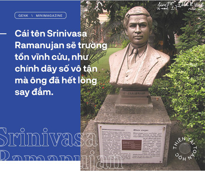 Thiên tài toán học Srinivasa Ramanujan, người đàn ông biết đếm tới vô tận - Ảnh 19.