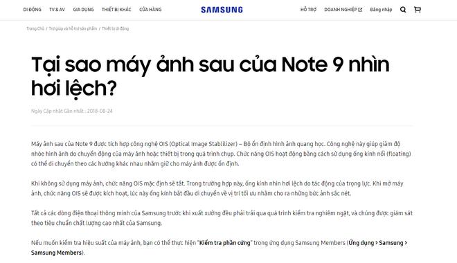 Nhiều người tá hỏa vì Galaxy Note 9 mới tinh đã lệch camera, Samsung lên đăng đàn sự thật ngay lập tức - Ảnh 3.