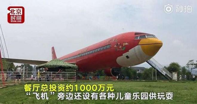 Đại gia Trung Quốc chi 1,5 triệu USD để sơn máy bay hình Angry Bird và mở nhà hàng, bảo tàng bên trong - Ảnh 1.