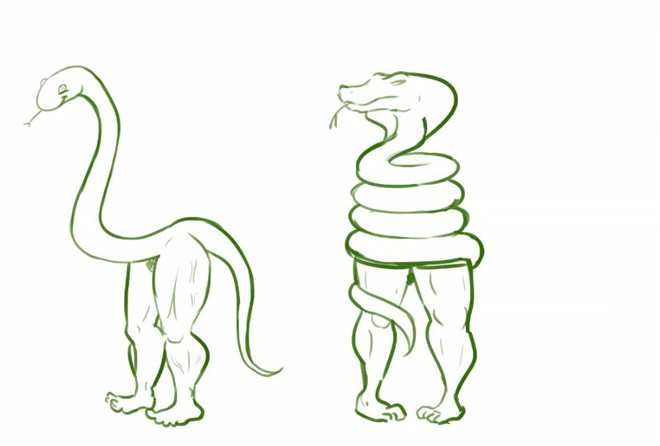 Vẽ rắn thêm chân quả là ngớ ngẩn nhưng vẽ rắn thêm tay lại hay biết mấy - Ảnh 2.