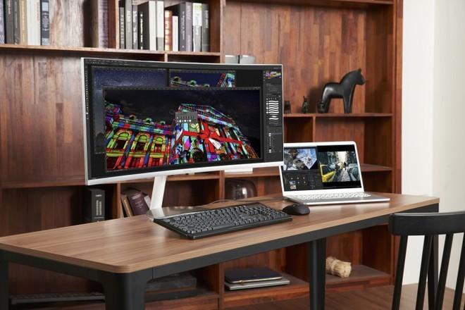 Trước thềm IFA, Samsung bất ngờ giới thiệu TV QLED Quantum Dot màn hình cong với Thunderbolt 3 - Ảnh 2.