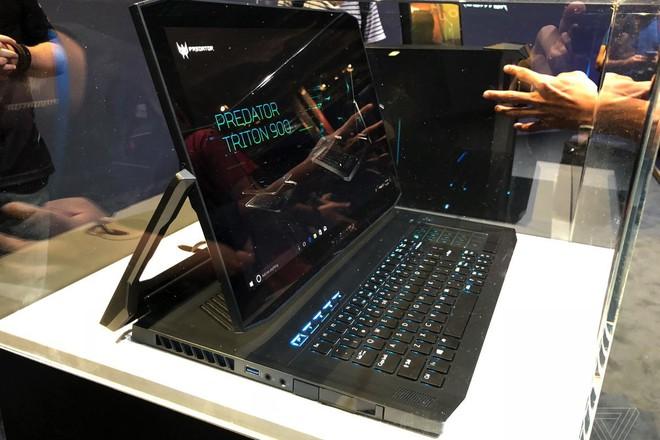 [IFA 2018] Acer ra mắt Predator Triton 900: chiếc gaming laptop 2 trong 1 cực độc với màn hình xoay lật - Ảnh 2.