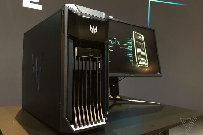 [IFA 2018] Acer trình làng gaming PC cực khủng Predator X: được trang bị 2 bộ xử lý Intel Xeon, 12 khe RAM - Ảnh 3.
