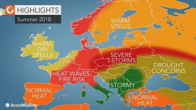 Cư dân Châu Âu sẽ sớm phải trải nghiệm khí hậu miền nhiệt đới giống Việt Nam nếu lượng CO2 vẫn gia tăng - Ảnh 2.