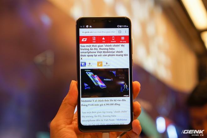 Sau một thời gian chinh chiến thị trường Ấn Độ, thương hiệu smartphone Việt Mobiistar chính thức quay lại với sản phẩm mang tên X - Ảnh 5.