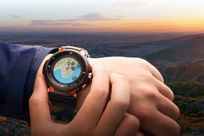 [IFA 2018] Casio ra mắt smartwatch Pro Trek thế hệ thứ 3, chạy Wear OS, pin 1 tháng, giá 12,7 triệu - Ảnh 2.