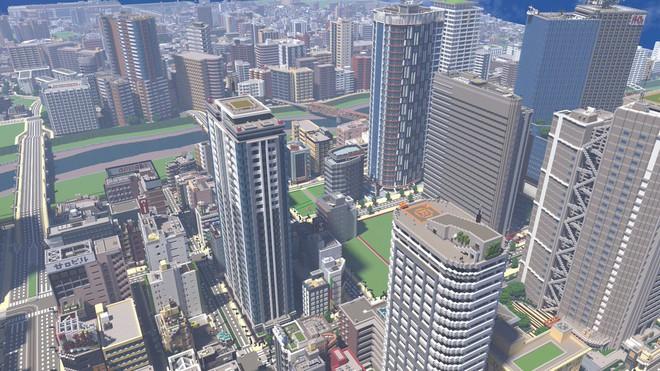 Ngỡ như đô thị sầm uất ở Nhật, loạt ảnh này lại được chụp trong Minecraft - Ảnh 3.