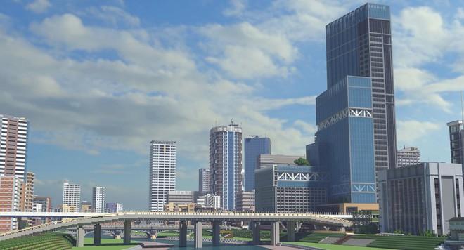 Ngỡ như đô thị sầm uất ở Nhật, loạt ảnh này lại được chụp trong Minecraft - Ảnh 4.