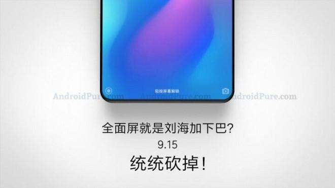 Xiaomi Mi Mix 3 có thiết kế không viền, RAM tối đa 8GB, bộ nhớ lên tới 256GB, ra mắt vào 15/9? - Ảnh 1.