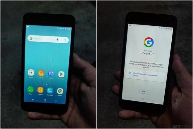Cuối cùng hình hài của chiếc smartphone chạy Android Go đầu tiên của Samsung đã lộ diện - Ảnh 3.