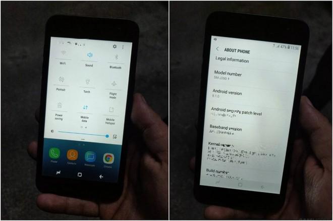 Cuối cùng hình hài của chiếc smartphone chạy Android Go đầu tiên của Samsung đã lộ diện - Ảnh 2.