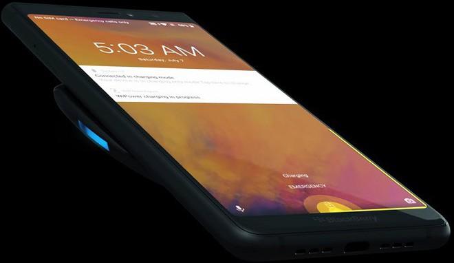 Thiết bị sạc không dây chính hãng của BlackBerry lộ diện - Ảnh 1.