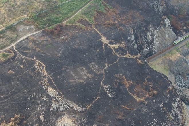 Nắng nóng kỉ lục gây cháy rừng, bất ngờ lộ ra một thông điệp bí mật từ thời Chiến tranh Thế giới Thứ Hai - Ảnh 2.