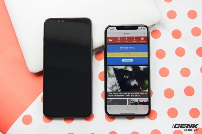 Trên tay mô hình iPhone X Plus đầu tiên tại VN và so sánh với iPhone X - Ảnh 7.