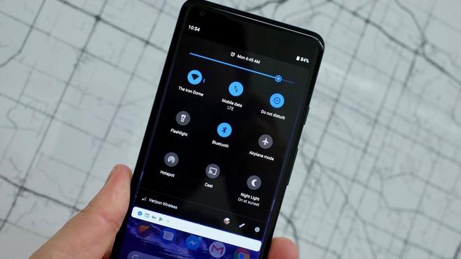 Xem chế độ Dark Mode chính chủ trên Android 9 Pie - Ảnh 1.